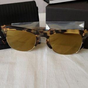 Dolce & Gabbana 53mm Clubmaster Sunglasses